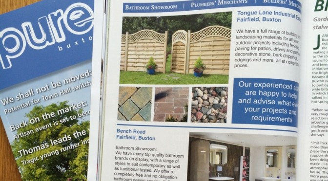 …As Featured in Pure Buxton Magazine