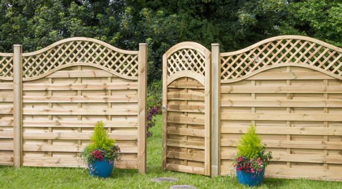 Zest fence panels